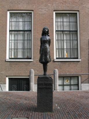 Anne Frank-Denkmal in Amsterdam