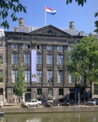Das Trippenhuis (KNAW-Gebäude) in Amsterdam