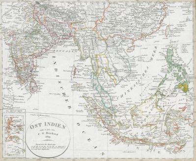 Historische Karten Ostindien