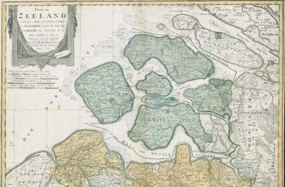 historische Karten Zeeland