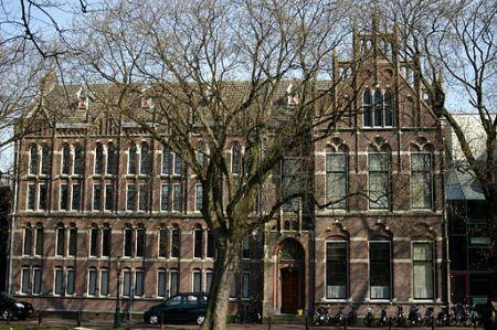Das ELO-Gebäude an der Boisotkade 2A in Leiden