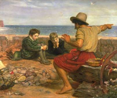 The Boyhood of Raleigh, Gemälde von John Everett Millais (1871)