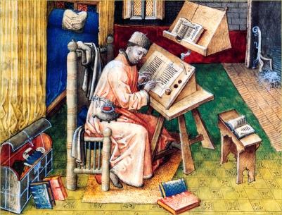 Der Schreiber und Buchillustrator Jean Miélot