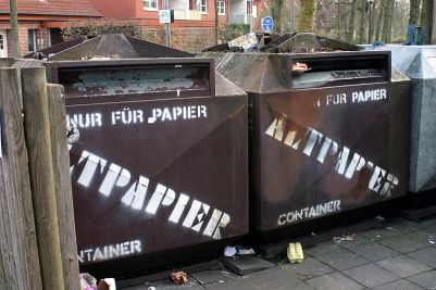 Altpapiercontainer: keine Option für das SSG Benelux