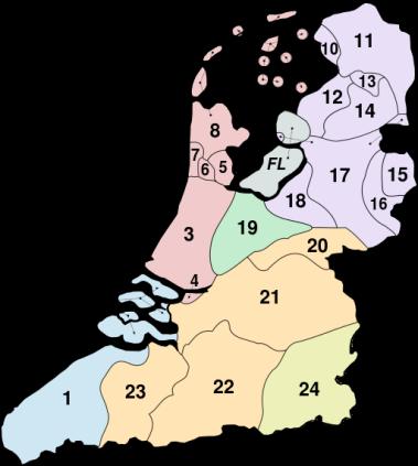 niederländische Dialektgrenzen