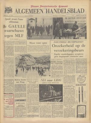 Amsterdams Dagblad vom 19. Juli 1945