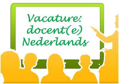 vacature docente Nederlands