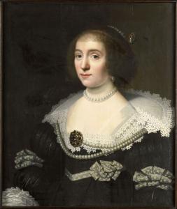 Michiel Jansz. van Mierevelt, Portrait von Amalia von Solms-Braunfels (1602-75), ca. 1632, Rijksmuseum Muiderslot