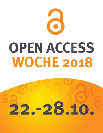 Graphik Open-Access-Woche 2018