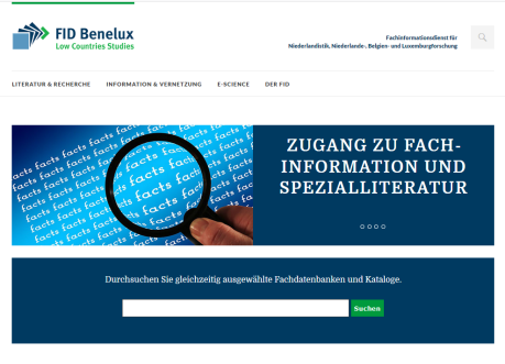 Screenshot Portal FID Benelux