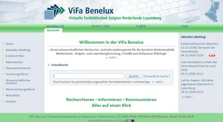 Screenshot ViFa Benelux