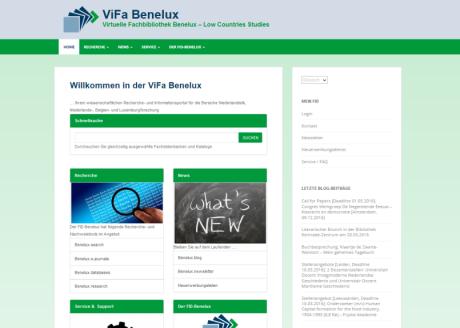 Screenshot Prototyp ViFa Benelux
